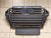Решетка радиатора Audi A3 S3, фото 1