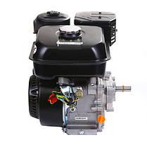 Двигатель бензиновый c редуктором WEIMA WM170F-L(R) New (7 л.с.,вал 20мм, шпонка, бак 5 л), фото 3