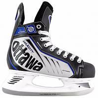 Ковзани хокейні MaxCity Ottawa р. 44, фото 1