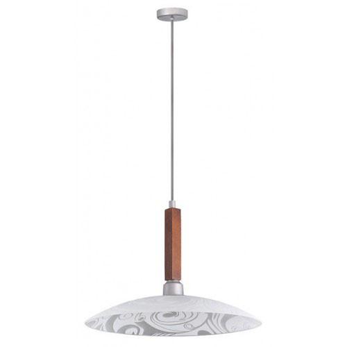 Подвесной потолочный светильник Орех 1*60Вт Vesta Light 25323