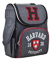 """Ранец ортопедический каркасный """"1 Вересня"""" Harvard H-11, 555138"""