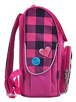 """Ранец ортопедический каркасный """"1 Вересня"""" Barbie red H-11, 555156, фото 2"""