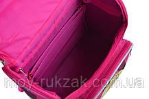 """Ранец ортопедический каркасный """"1 Вересня"""" Barbie red H-11, 555156, фото 3"""