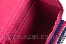 """Ранец ортопедический каркасный """"1 Вересня"""" Frozen blue H-11, 555158, фото 3"""