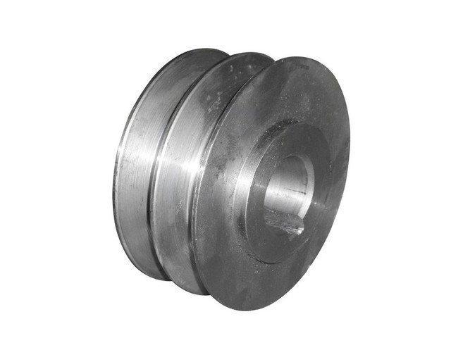Шкив двухручьевой (наружный диаметр 76 мм, внутренний 20мм)