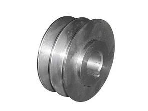 Шків двохструмкової (зовнішній діаметр 76 мм, внутрішній 20мм)