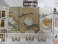 Набор полотенец для кухни Nilteks Coffee time 50*70см 3шт
