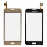 Сенсорный экран Samsung G531 (Galaxy Grand Prime) золотой H/C