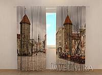 "Фото шторы ""Старый Таллинн"" 250 х 260 см"