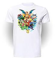 Футболка GeekLand Покемон Го Pokemon Go 20th Anniversary Starters PG.01.001