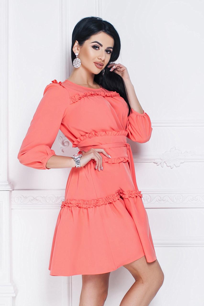 cd33039d5ac Платье Джульетта в персиковом цвете - LILIT ODESSA оптово-розничный магазин  женской одежды в Одессе