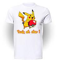 Футболка GeekLand Покемон Го Pokemon Go Pikachu Peek at Chu Tee PG.01.002
