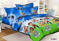 Комплект детского постельного белья Щенячий патруль полуторный