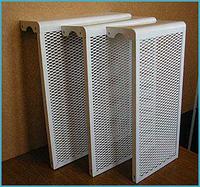 Декоративный экран радиаторный на 3 секции
