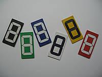 Цифровые переворотные сегменты маленького размера 7см, фото 1