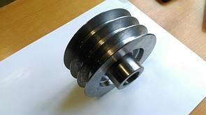 Шків трехручейный (зовнішній діаметр 76 мм, внутрішній 25мм)