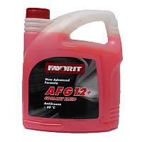 Антифриз-концентрат FAVORIT AFG 12+ 5кг красный