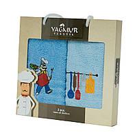 Набор полотенец для кухни Yagmur Cook 30*50см 2шт