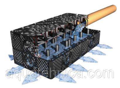 Дренажный блок для отвода воды Graf 300 литров