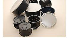 Подрозетники и распред коробки установочные в штукатурку