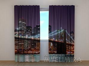 "Фото шторы ""Бруклинский мост"" 250 х 260 см"