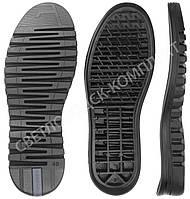 Подошва для обуви TP 5364 LP, черная с цветной вставкой