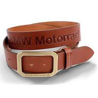 Ремень кожаный BMW Motorrad Новый Оригинальный