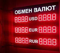 Светодиодное табло обмена валют, фото 1