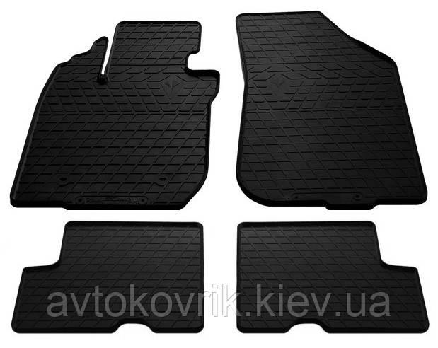 Резиновые коврики в салон Dacia Duster 2010-2014 (STINGRAY)