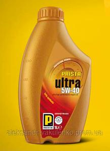 Моторное масло Prista Ultra SAE 5W-40, 4 л, A3/B4, SN/SM/CF