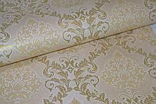 Обои, на стену, бумажные, дворцовый стиль, светлые, крупный рисунок, B27,4 Ария 6534-05, 0,53*10м, фото 2