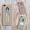 Дизайнерский силиконовый чехол мишка Тедди для iPhone 5/5s/se
