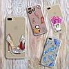Дизайнерский силиконовый чехол мишка Тедди для iPhone 5/5s/se, фото 3