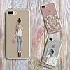 Дизайнерский силиконовый чехол мишка Тедди для iPhone 5/5s/se, фото 4