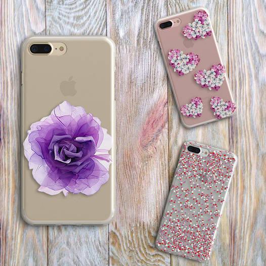Дизайнерский силиконовый чехол для iPhone 5/5s/se
