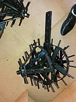 Культиватор Ёж (ширина 38 см) с отверстиями мотоблочный Шип