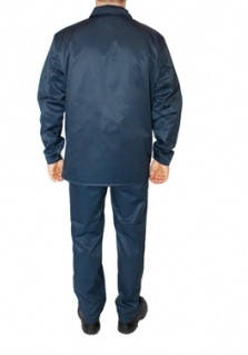 Костюм рабочий ОТ летний ECONOM темно-синий, фото 2