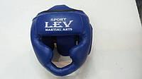 Боксерский шлем-маска  р. L  стрейч с полной защитой регулируемый,
