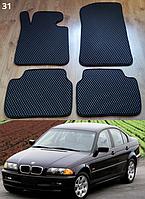 Коврики на BMW 3 E46 '98-06. Автоковрики EVA