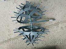 """Комплект ежей на двойной сцепке для мотоблока (на втулках) """"ШИП"""", фото 2"""