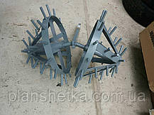 """Комплект ежей на двойной сцепке для мотоблока (на втулках) """"ШИП"""", фото 3"""