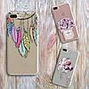 Дизайнерский силиконовый чехол ловец снов для iPhone 5/5s/se