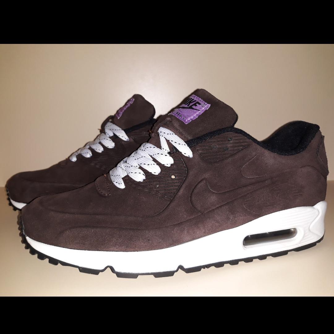 e182fc3817dd Мужские кроссовки Nike AIR MAX 90 (178 шоколадные)  продажа, цена в ...