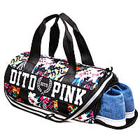Спортивная сумка Victoria`s Secret Dito Pink