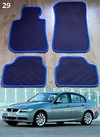 Коврики на BMW 3 E90 '05-11. Автоковрики EVA