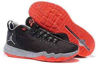 Кроссовки Jordan CP3.IX AE Black/Infrared