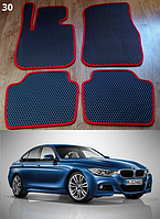 Коврики на BMW 3 F30 '12-н.в. Автоковрики EVA