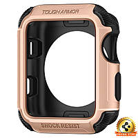 Чехол Spigen для Apple Watch Tough Armor™ 2 (42mm) Blush Gold, фото 1
