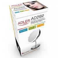 Зеркало косметическое Adler AD 2159 LED 3x zoom