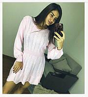 Женское вязаное платье ViV-350